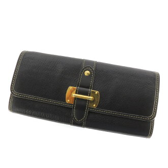 LOUIS VUITTON wallet & ルファヴォリ M95645 wallet ( purses and ) back (goat leather) women's fs3gm