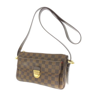 LOUIS VUITTON ラヴェロ N60006 GM shoulder bag Damier Canvas Womens