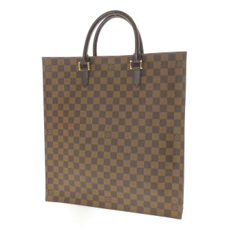 LOUIS VUITTON サックプラ N51140 tote bag Damier Canvas unisex