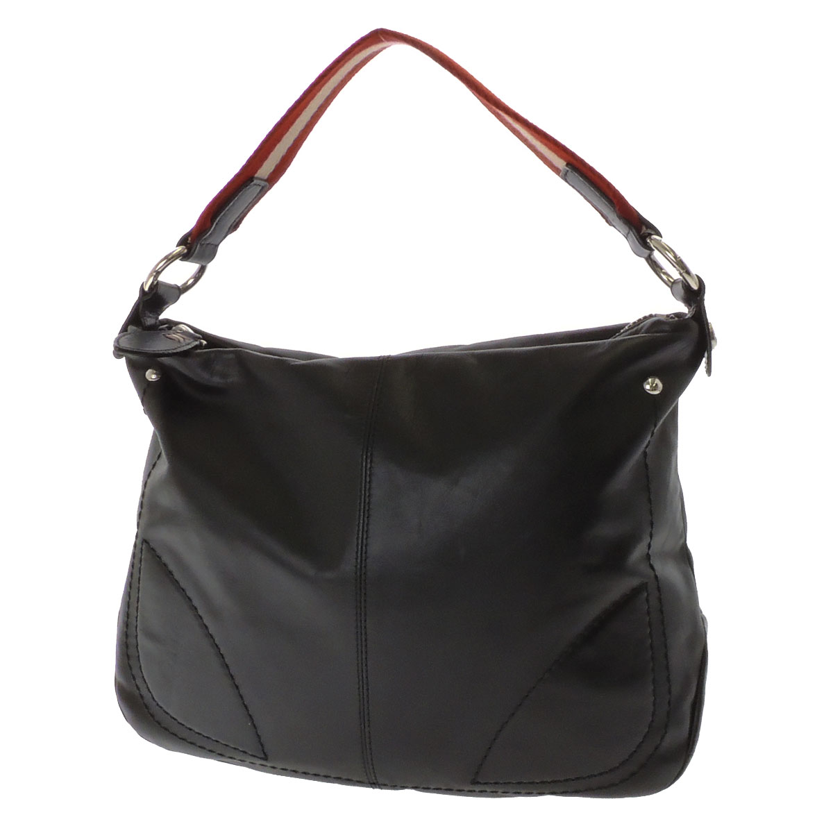 Awesome Bally Moonrise Small Women S Leather Hobo Bag In Black In Black