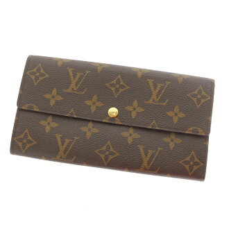 LOUIS VUITTON ポルトフォイユ Sarah M60232 long wallet (there is a coin purse) monogram fully re-lady's fs3gm