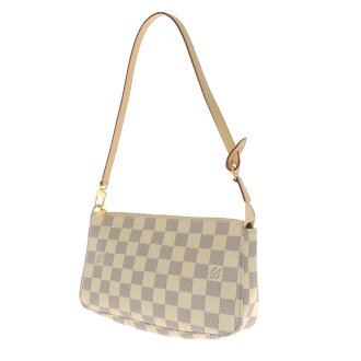 LOUIS VUITTON pochettaxesovar N51986 accessory pouch Damier Canvas Womens