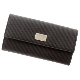 BVLGARI slim wallet ( purses and ) PVC x leather unisex