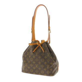 LOUIS VUITTON petit Noe shoulder bag monogram canvas Lady's