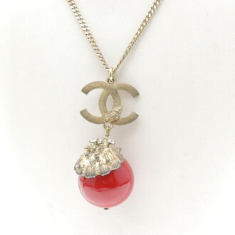 CHANEL Chanel mark necklace ladies