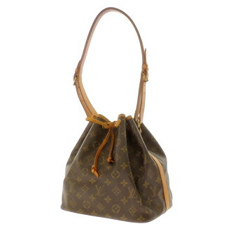 LOUIS VUITTON petit Noe M42226 shoulder bag monogram canvas Lady's
