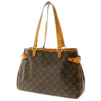 LOUIS VUITTON バティニョールオリゾ M51145 shoulder bag monogram canvas Lady's fs3gm