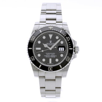 ROLEX Oyster Perpetual Submariner date 116610 LN wristwatch SS men