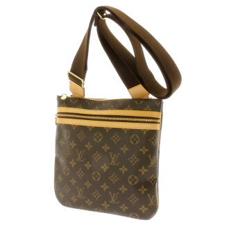 Women's shoulder bag Monogram Canvas, LOUIS VUITTON pochettbosfor M40044