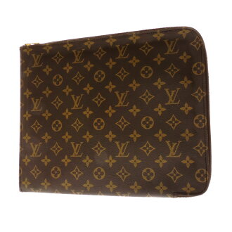 LOUIS VUITTON documents case posh-document M53456 Briefcase Monogram Canvas unisex