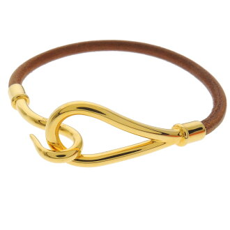 HERMES Jumbo bracelet Leather Womens