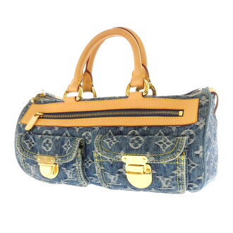 LOUIS VUITTON ネオスピーディー M95019 handbag Monogram Denim women's fs3gm