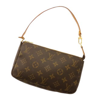 LOUIS VUITTON pochettaxesovar M51980 accessory bag Monogram Canvas ladies