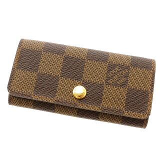 4 four LOUIS VUITTON ダミエミュルティクレ N62631 key Kay Mie Suda canvas unisex