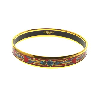 HERMES Bangle: cloisonne bracelet ladies '