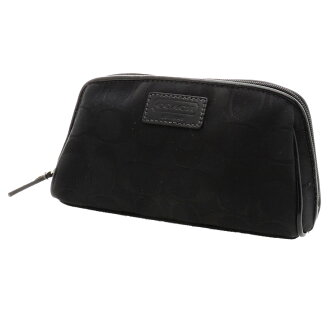 COACH signature cosmetic pouch campus ladies