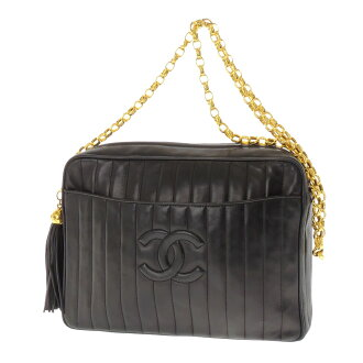 CHANEL Coco make shoulder bag lambskin ladies
