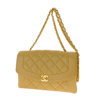 CHANEL マトラッセステッチ shoulder bag lambskin ladies