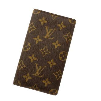 LOUIS VUITTON diary cover R20599 notebook cover monogram canvas is unisex