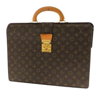 LOUIS VUITTON セルヴィエットフェルモワール M53305 business bag monogram canvas men
