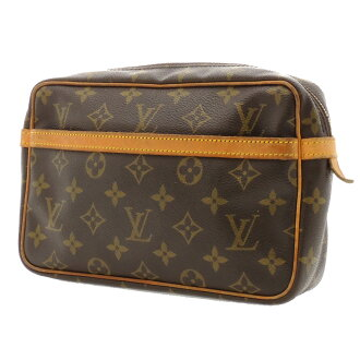 LOUIS VUITTON コンビエーニュ M51845 second bag monogram canvas men