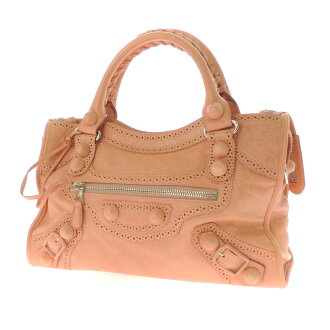 204529.5741.467891 BALENCIAGA handbag leather Lady's fs3gm