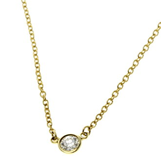 TIFFANY &Co. by the yard necklace necklaces & pendants K18 gold ladies fs3gm