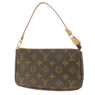 LOUIS VUITTON アクセソワール M51980 accessories porch monogram canvas Lady's fs3gm