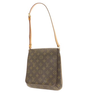 LOUIS VUITTON musette salsa M51258 shoulder bag monogram canvas Lady's fs3gm