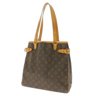 LOUIS VUITTON バティニョールヴェルティカル M51153 shoulder bag monogram canvas Lady's