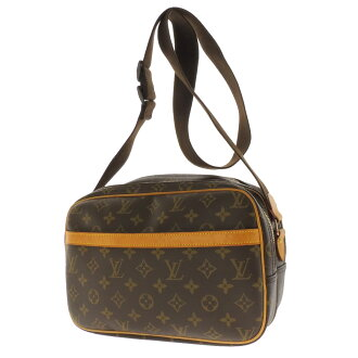 LOUIS VUITTON reporter 28 M 45254 shoulder bag Monogram Canvas ladies fs3gm