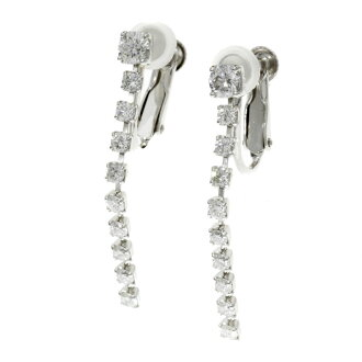 SELECT JEWELRY diamond earrings platinum PT900 Lady's fs3gm
