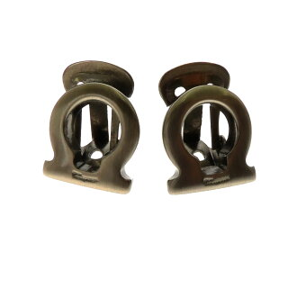 Salvatore Ferragamo hose bit earrings Lady's fs3gm