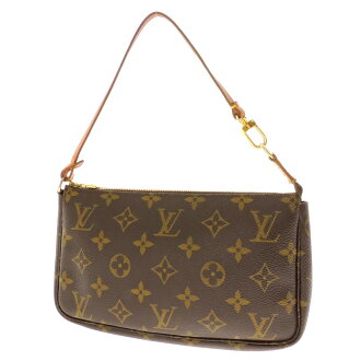 LOUIS VUITTON アクセソワール M51980 old accessories porch monogram canvas Lady's