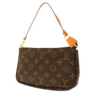 LOUIS VUITTON ポシェットアクセソワール M51980 accessories porch monogram canvas Lady's