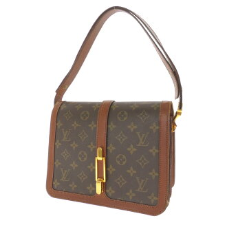 LOUIS VUITTON with a shoulder bag Monogram Canvas ladies fs3gm