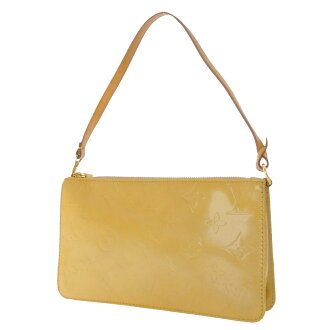 LOUIS VUITTON Lexington M91010 accessory pouch モノグラムヴェルニ ladies