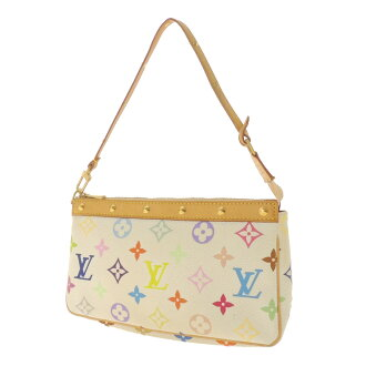 LOUIS VUITTON pochettaxesovar M92649 accessory pouch Monogram multi color canvas Womens