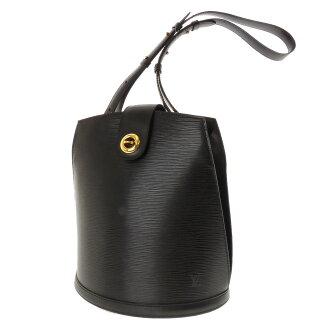 Women's shoulder bag EPI leather, LOUIS VUITTON Cluny M52252