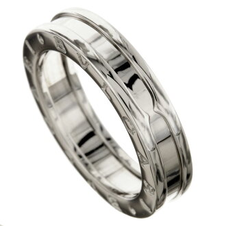 BVLGARI B-zero X ring, ring K18 white gold Lady's fs3gm