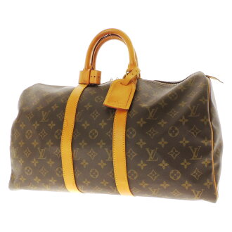 45 LOUIS VUITTON key Poll M41428 Boston bag monogram canvas unisex fs3gm
