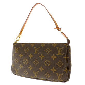 LOUIS VUITTON アクセソワール M51980 accessories porch monogram canvas Lady's