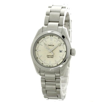 OMEGA Seamaster Aqua Terra watch stainless steel ladies