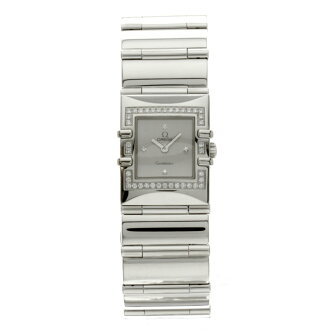OMEGA constellation カレクアドラ 1528-36 stainless steel women's watch