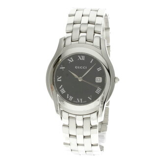 GUCCI 5500M stainless steel men's watch
