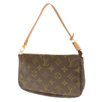 LOUIS VUITTON pochettaxesovar m56980 accessory bag Monogram Canvas ladies