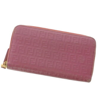 FENDI zip around wallet ( purses and ) Leather Womens fs3gm