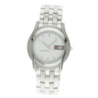 GUCCI 5500M WH YA055311 watch stainless steel men fs3gm