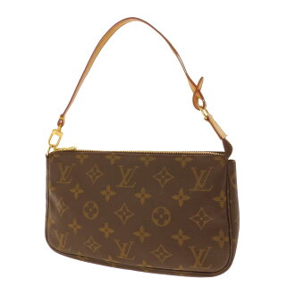 LOUIS VUITTON old アクセソワール M51980 accessories porch monogram canvas Lady's fs3gm