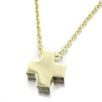 TIFFANY&Co. Crew sea form necklace K18 gold Lady's fs3gm
